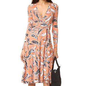 Yumi Kim Around Town Jersey wrap dress anthro